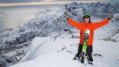 Leie av rorbu i Lofoten med egne guider. Ski og fiske i Lofoten #arrcom #hattvika #lodge #lofoten #norway