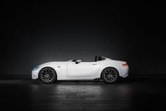The Mazda MX-5 Speedster Evolution takes a gorgeous approach to lightweighting
