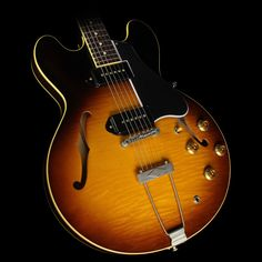 Gibson Memphis Limited Edition 1959 ES-330 Figured Electric Guitar Vintage Burst