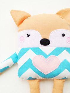 Fox Sewing Pattern  Fox Doll Toy Softie Pattern  by GandGPatterns, $8.00