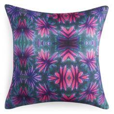 "Bunglo Jungle Flower Decorative Pillow, 20"" x 20"" - 100% Bloomingdale's Exclusive | Bloomingdale's"