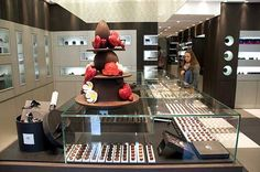 Pierre Marcolini's chocolate shop. Paris