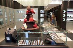 Pierre Marcolini's chocolate shop. Paris