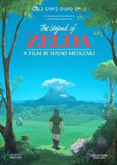¿Películas de Zelda producidas por Studio Ghibli? ¡Así se verían! | Atomix