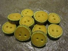 12 Poplar Wood Tree Branch Buttons. About.75 by PymatuningCrafts, $10.80
