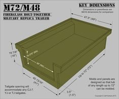 Fiberglass M416/M100 Military-style Trailer Tub Kit - Page 2 - Expedition Portal