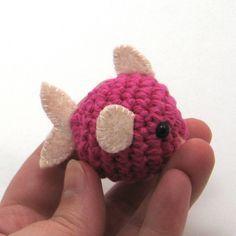 Teensy Pufferfish Amigurumi Pattern