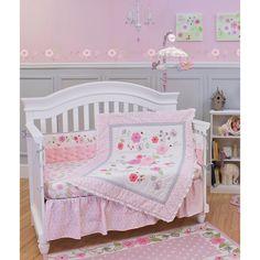 Garden District 5-piece Nursery Bedding and Bumper Set