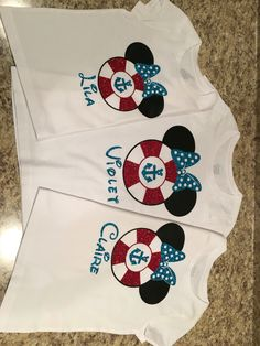 Disney cruise shirts Silhouette cameo Siser glitter and easyweed