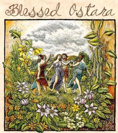 Here's a simple ritual that everyone can do to celebrate Ostara or the Spring Equinox! But first, here's a little history on Ostara. Ostar...