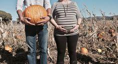 Fall maternity photo pumpkin patch