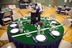 Hostess with the Mostess® - Surprise Football 60th Birthday Party--PERFECT A REDSKINS FOOTBALL PARTY THEME , HE WILL LOVE IT!