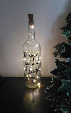 60 Wine Glass Bottle Crafts Ideas With Vivid Imagination These wine are the cutest ways to repurpose vessels.To glass in a fun way…. Empty Wine Bottles, Wine Bottle Art, Painted Wine Bottles, Lighted Wine Bottles, Diy Bottle, Bottles And Jars, Wine Glass, Bottle Lights, Decorated Bottles