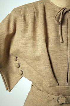 1940s Gilbert Adrian | Dress | American | The Metropolitan Museum of Art