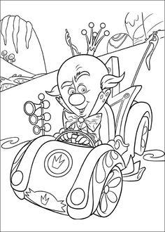 Kleurplaten Wreck-It Ralph 16