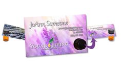 Custom young living business card design 4 young living young living invoice template the essential tools young living essential oils business cards colourmoves