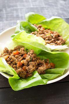 Turkey Lettuce Wraps #recipe