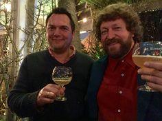 Gaby van Burik met Dirk Wijnants. Samenwerken bij Extremis met plezier. Togetherness!