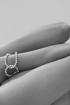 silver SLING bracelet No1