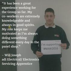 Will Joseph - Our Electronics Servicing Apprentice
