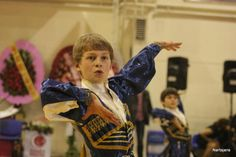 Dancing Circassian boy