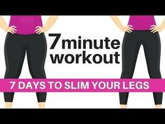 7 DAY CHALLENGE - 7 MINUTE WORKOUT TO SLIM YOUR LEGS - HOME WORKOUT TO LOSE HIP INCHES - START TODAY - YouTube