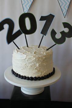Cake at a Graduation Party #graduaiton #partycake