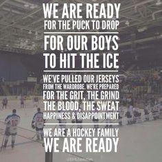Hockey families rock!