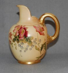 Antiques Atlas - Royal Worcester Small Jug C 1907