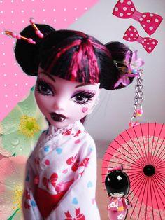 draculaura as geisha