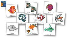"Memory Game ""Hooray for Fish"""