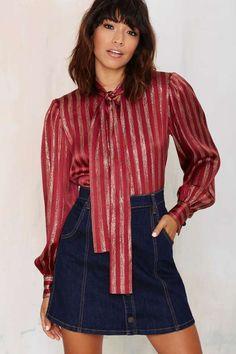 Vintage Givenchy Gilds Blouse - Vintage