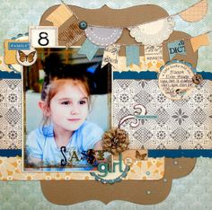 Ideas for Scrapbookers: Heather's Sketch & Template # 10