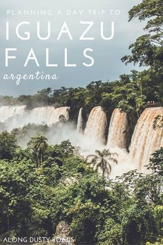A fantastic guide to help you plan your day trip to the Argentinian side of the Iguazu Falls - plus some stunning photography!