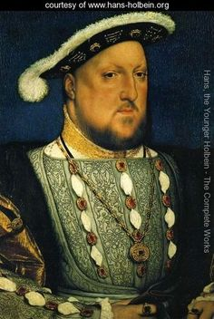 Portrait of Henry VIII 1536 - Hans, the Younger Holbein - www.hans-holbein.org