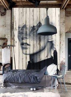 Warehouse conversion. My dream! Devine wall art:
