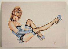 L008708 Olivia DeBerardinis 1992 Card #69 - Blue Note 1991 - Pin-Up Art