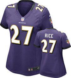 ... Rice Purple NFL Women Jersey 27 - Baltimore Ravens Accent Drop Earrings  httpwww.fansedge.comBaltimore- Ravens-Accent-Drop ... 0d3094345