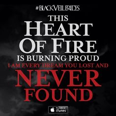 "Black Veil Brides ""Heart Of Fire""  http://vevo.ly/lhfgma"