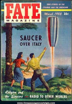 FATE Magazine was established in 1948 by Clark Publishing Company and the first edition of FATE hit world newsstands in the Spring. Co-founded by Ray Palmer, editor of the venerable Amazing Stories magazine, and Curtis Fuller, an accomplished editor in his own right. http://www.fatemagcollector.com/