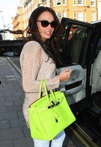 8a48ea2dfb4a Tamara Ecclestone carries the brightest Birkin I ve ever seen