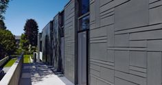 zinc noir en façade - Google Search
