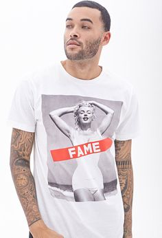 Marilyn Monroe Tee #21Men------ Forget the shirt, I want THE MAN!!! <3