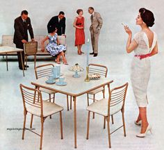 Cosco 1960; I have the chairs, I just need the table!