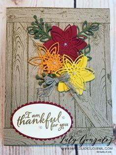 Painted Ladies Journal: Snowflake Showcase Woodgrain Background Stamp Crackle Painting, Paint Background, Tree Rings, Thankful, Grateful, Digital Scrapbooking, Stampin Up, Snowflakes, Thanksgiving