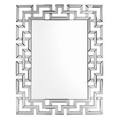 Extraordinary in craftsmanship and sparing no decorative detail, our Santorini Mirror boasts exquisite design distinction and master artistry. $299.00  #zgallerie