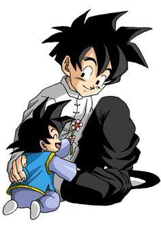 Heart of a half Saiyan (Gohan) - Goten arrives - Wattpad Dragon Ball Gt, Dragon Ball Z Shirt, Goten Y Trunks, Gohan And Goten, Goku And Chichi, Naruto, Manga Comics, Akira, Anime Manga