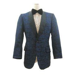 Vintage 60s 70s Dinner Jacket Men's Tux by VogueVintageMenswear
