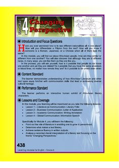 Dep Ed grade 8 English learning guide quarter 4 - Education English Lesson Plans, English Lessons, Learn English, Sidney Sheldon Books, 4a's Lesson Plan, Application Letter Sample, Bullying Posters, Nonfiction Text Features, Values Education