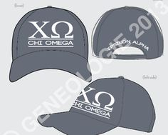 Oklahoma Chi Omega hat #chio #hat #greek #sorority